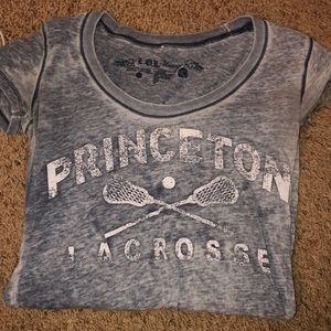 University of Princeton lacrosse t-shirt
